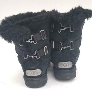 UGG Suede and Ful lined boots - size 7 / EUR 38